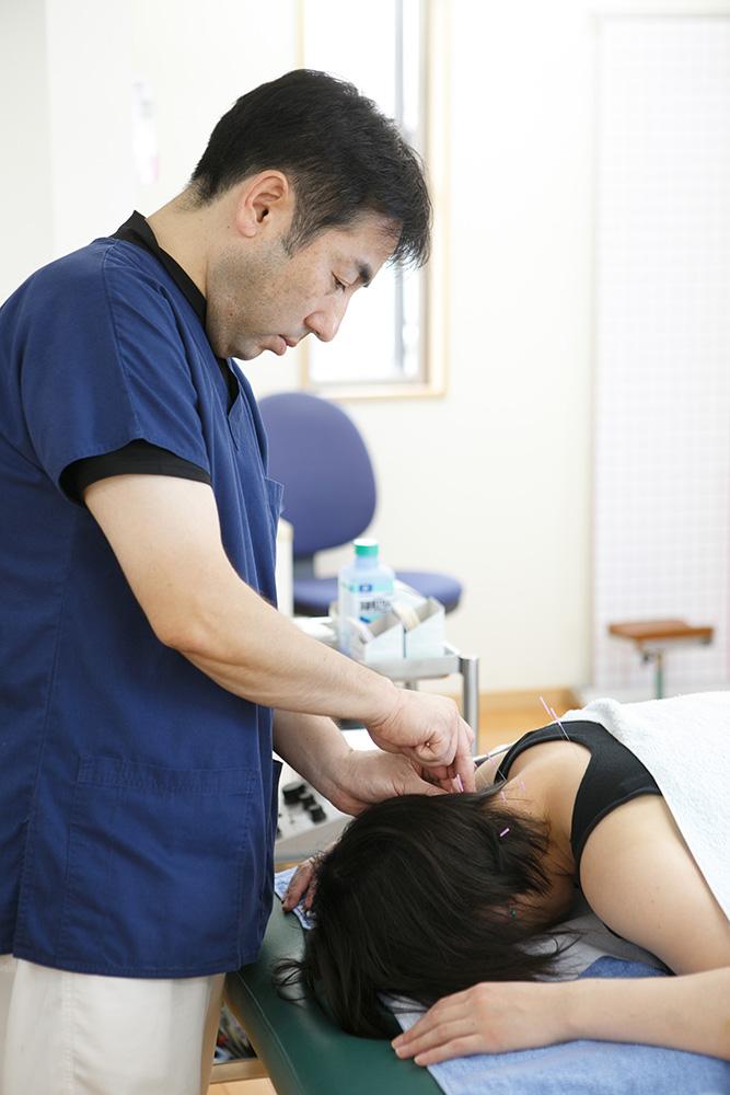 あやた接骨院の鍼治療